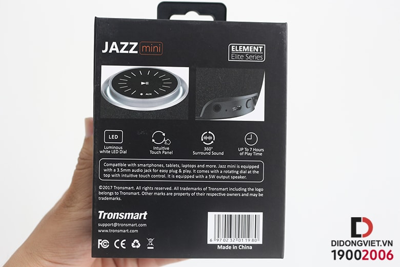 Loa Bluetooth Tronsmart Jazz Mini